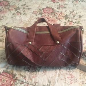 UGG AUSTRALIA Weekender; Small Duffel Bag. Leather